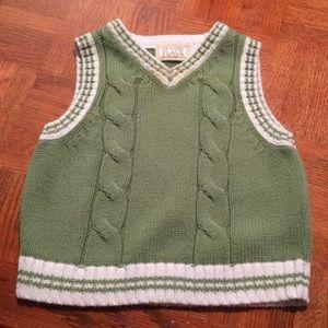 🛎3/$15 Baby sweater vest, knit winter sweater